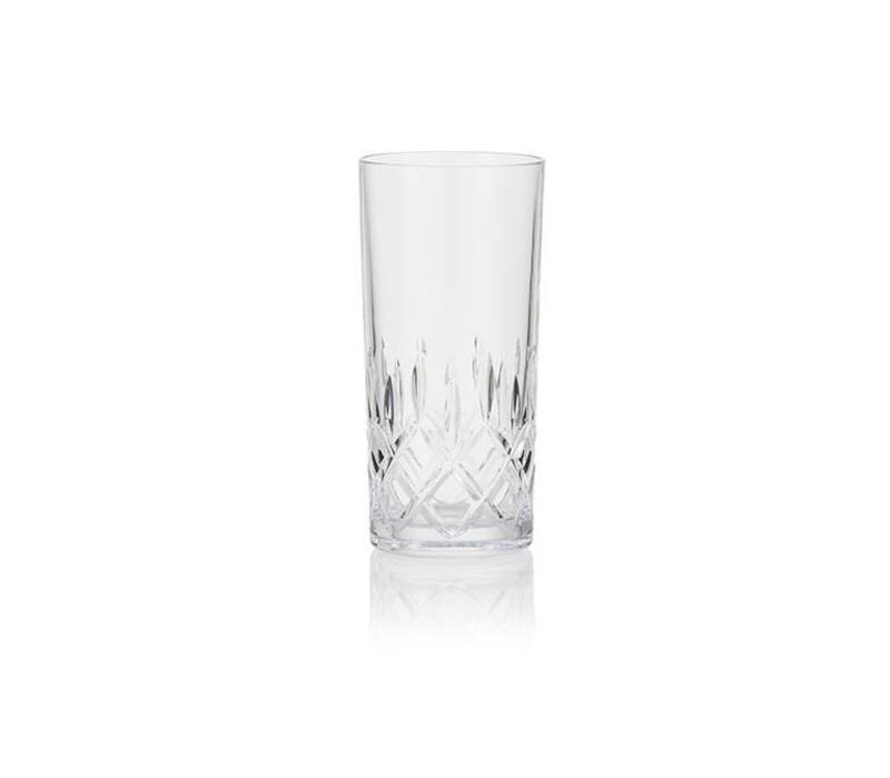 Crystal Long Drink Glasses, set of 6