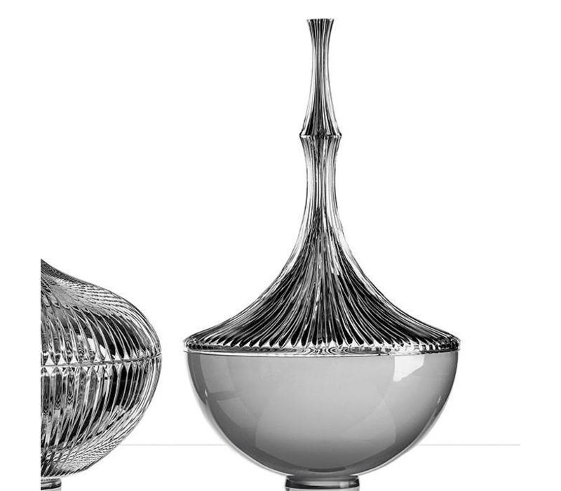 Bamboo table lamp by Boda Horák