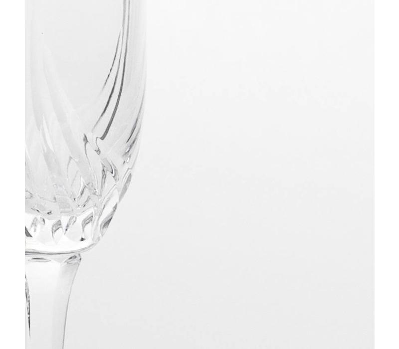 Aurora Champagne Flute, set of 6
