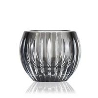 Shining Star Smoke Crystal tealight votive / vase