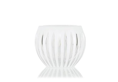 Shining Star White Crystal Tea Light Votive / Vase