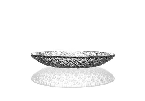 Bomma  Bubbles Medium Crystal Plate, 21.5cm