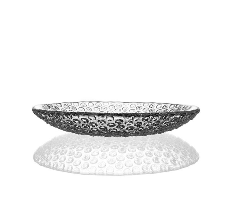 Bubbles Medium Crystal Plate, 21.5cm