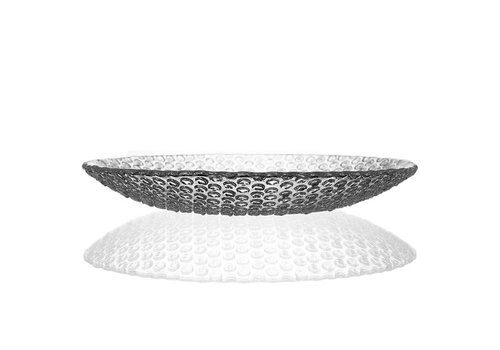 Bomma  Bubbles Medium Crystal Plate, 27cm