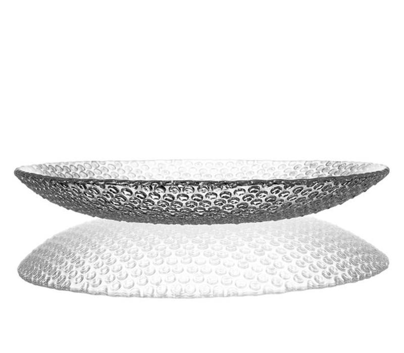 Bubbles Large Crystal Plate, 34cm