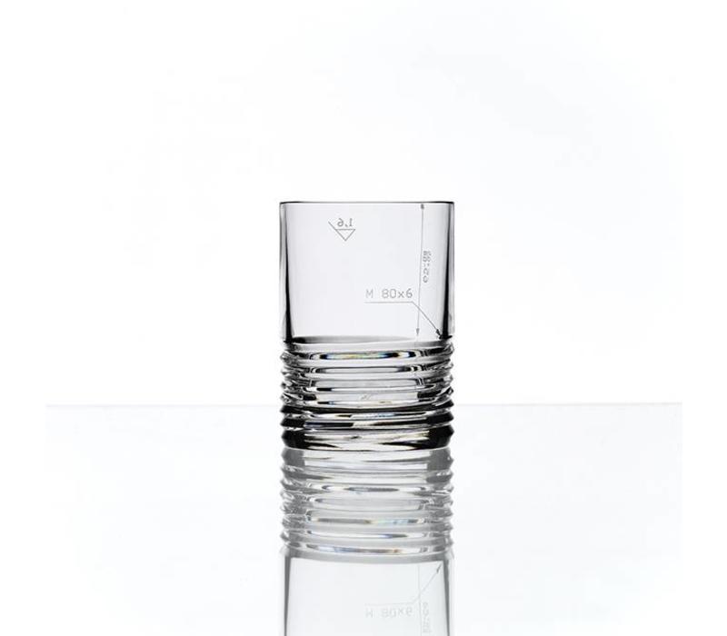 M80x6 Engineering Koncern Design Studio, highball glass, set of 2