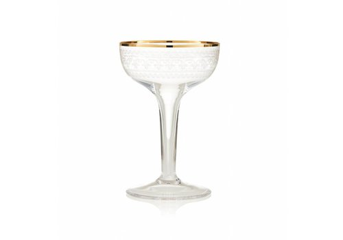 Gurasu Crystal  L'Oscar Vintage Coupe Glass