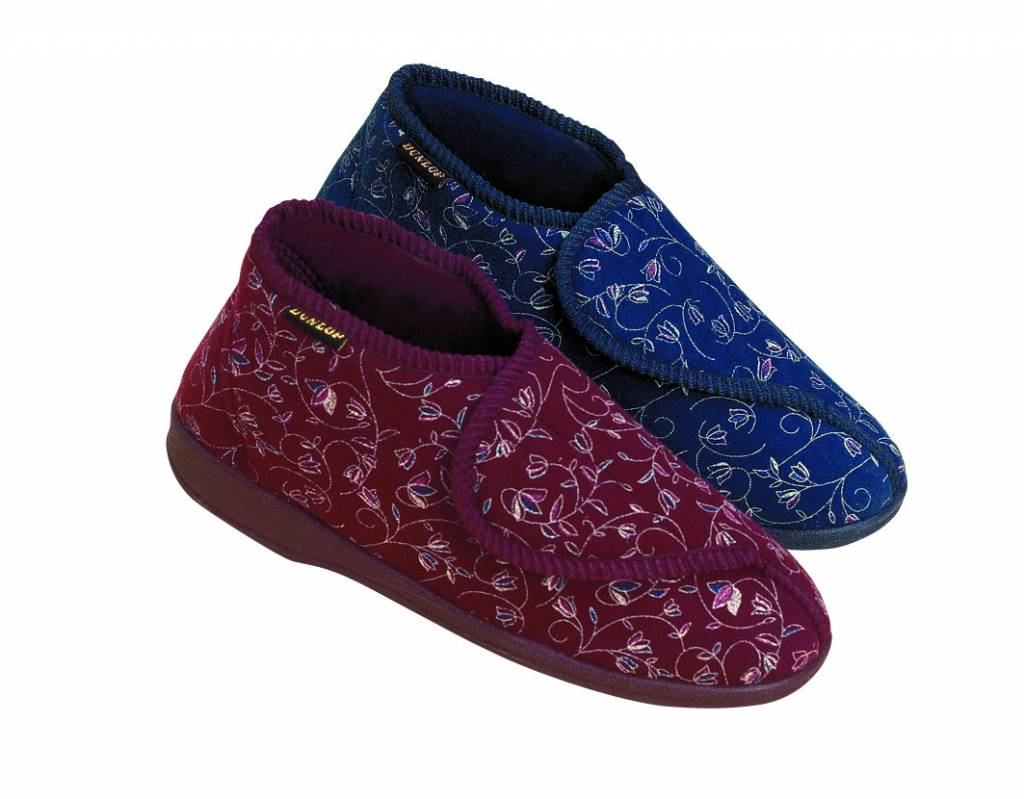 Dunlop Betsy Pantoffel Rood