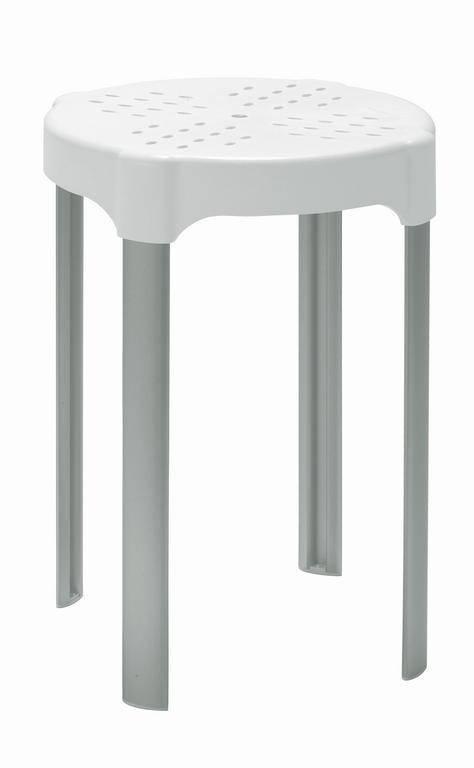 Aluminium Douchekrukje  Anti-slip