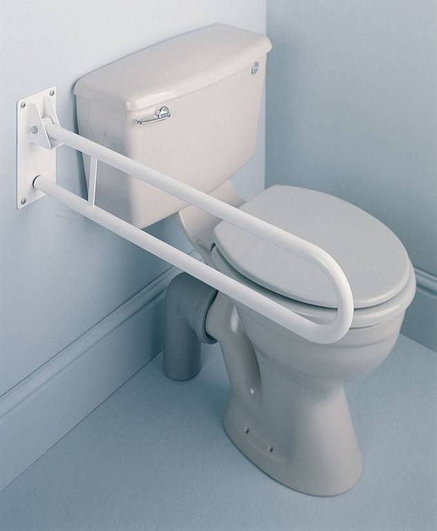 Toiletbeugel opklapbaar (Lengte 76 cm)