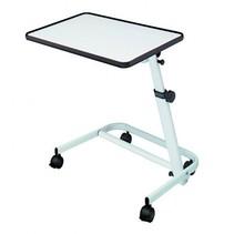 Bedleestafel deluxe  - met wielen - verstelbaar