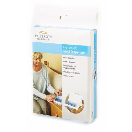 Patterson Medical Pillenorganiser  voor 1 week, 4 vakjes per dag
