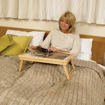 Bedtafel voor op bed verstelbaar