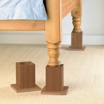 Bed verhogers Hout - 13 cm hoog