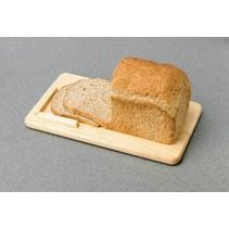 Broodplank - hout - opstaand randje