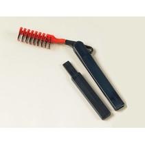 Haarborstel met verlengdhandvat van 32 cm
