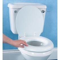 Homecraft zachte toiletzitting met deksel - dikte 5 cm