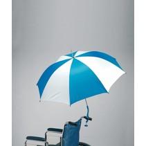 Handige rolstoelparaplu