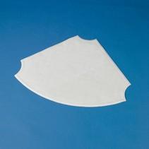 Douchemat Anti- slip - hoekmodel 66 x 48 cm