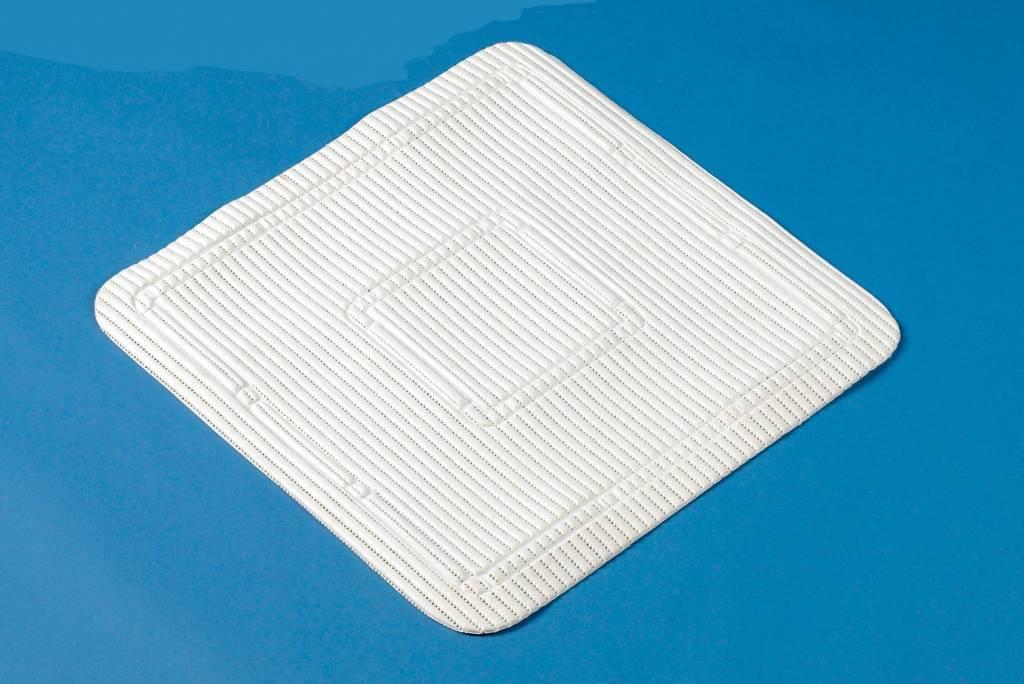 Douchemat Anti- slip Latex vrij 55,5 x 55,5 cm