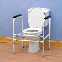 Toiletoverzet stalen frame