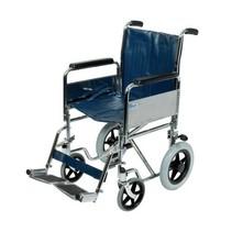 Rolstoel duwwagen met neerklapbare rug  - XL Transportstoel - zitbreedte 51 cm
