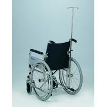 Infuusstandaard voor op rolstoel - verstelbaar