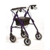 Lichtgewicht rollator walker blauw