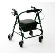 Lichtgewicht rollator walker compact groen