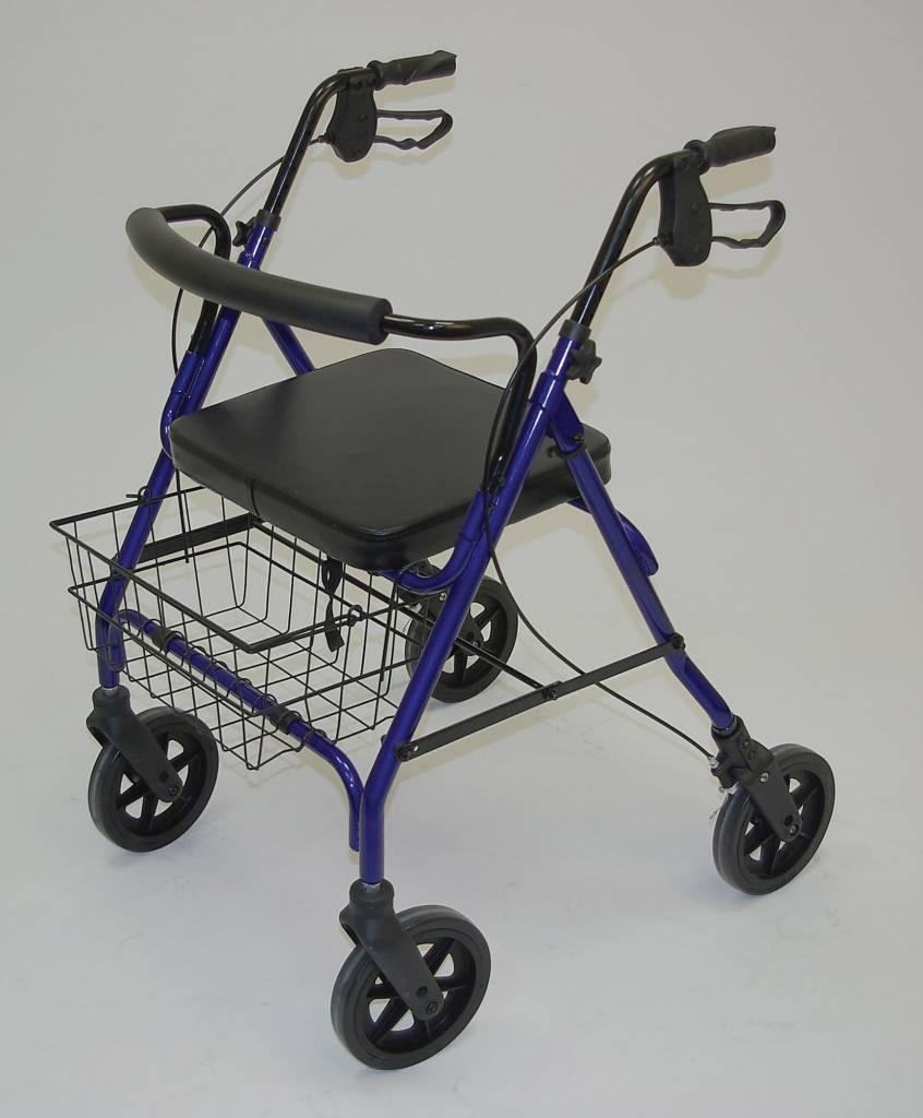 Days Rollator XL  tot 178 KG Blauw