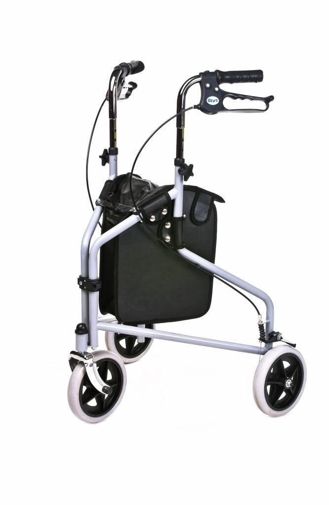 Rollator  delta hoogte verstelbaar 82.5-95.5cm
