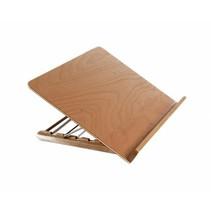 Leesstandaard klein model, hout 30x42