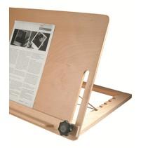 Leesstandaard - groot model A3 - hout