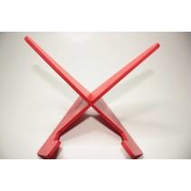 Leesstandaard, eenvoudig model, rood