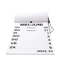 Grootletter weekkalender