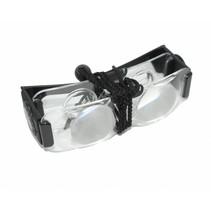 Coil TV-bril 4090 - vergrotingsbril - 2x clear lens
