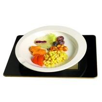 GripWare bord met opstaande rand  - Ø 23 cm  - anti-slip