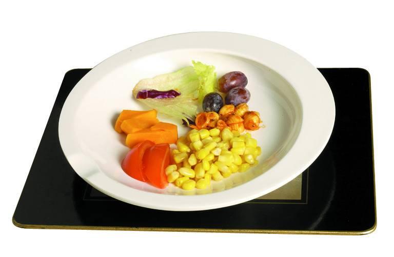 GripWare bord met opstaande rand
