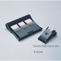 Touch test set hand - 0.07 - 0.4 - 2 - 4 - 300 gr