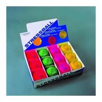 Anti-Stress ballen - display 12 stuks