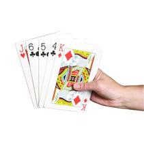 Speelkaarten -  extra groot - 10x15cm