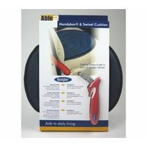 Handybar® met draaischijf combi