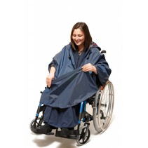 Wheely poncho - 3 in 1 - borstomvang tot 140 cm