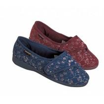 Dunlop BlueBell Pantoffel - dames Rood  / Blauw  - maat 36 tot 42