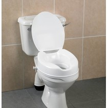 Comfortabele Toiletverhoger met Deksel
