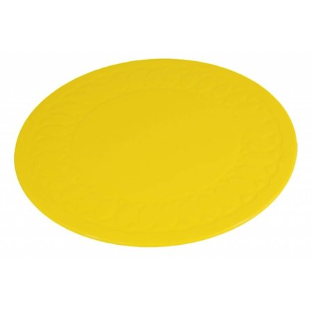 Able2 Able 2 Onderzetters Anti - slip matten - Rond - 14  / 19 cm - blauw / rood / geel