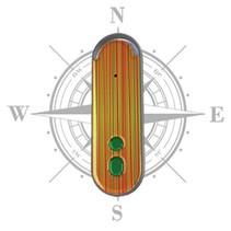 Picobello akoestisch en tactiel kompas