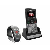 Maxcom MM 715 BB GSM met SOS armband
