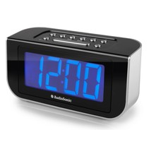 Wekkerradio CL-1475 blauw display