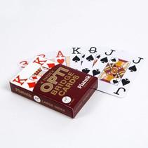 Opti speelkaarten set (2st) 4 index
